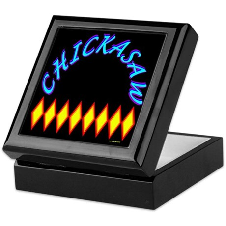 CHICKASAW TRIBE Keepsake Box