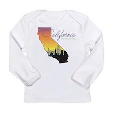 San Francisco California Long Sleeve Infant T-Shir