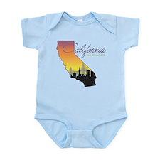 San Francisco California Infant Bodysuit