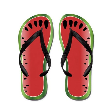 Watermelon Flip Flops