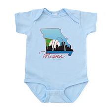 Saint Louis Missouri Infant Bodysuit