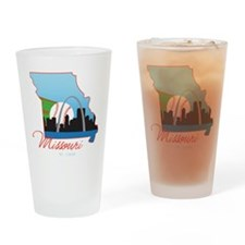 Saint Louis Missouri Drinking Glass