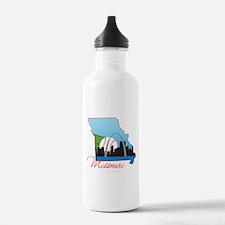 Saint Louis Missouri Water Bottle