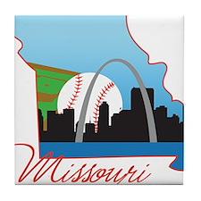 Saint Louis Missouri Tile Coaster