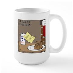 Redneck Christmas Large Mug