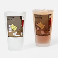 Redneck Christmas Drinking Glass