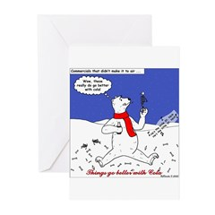 North or South Pole? Greeting Cards (Pk of 10)
