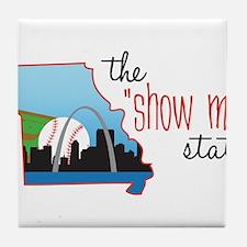 Show Me State Tile Coaster
