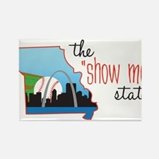 Show Me State Rectangle Magnet