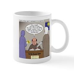 Bethlehem Census Mug