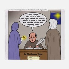 Bethlehem Census Throw Blanket