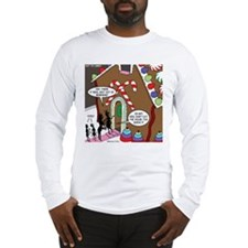 Ant Gingerbread House Long Sleeve T-Shirt