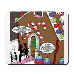 Ant Gingerbread House Mousepad