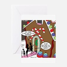 Ant Gingerbread House Greeting Card