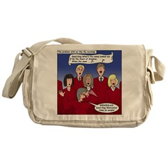 Christmas Choir Messenger Bag