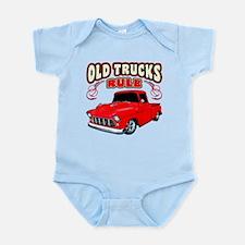 Old Trucks Rule 1 Infant Bodysuit