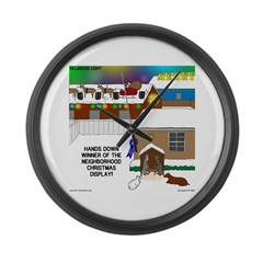Best Christmas Decorations Large Wall Clock