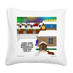 Best Christmas Decorations Square Canvas Pillow
