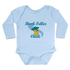 Bank Teller Chick #3 Long Sleeve Infant Bodysuit