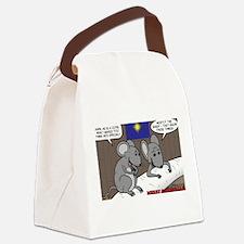 Nativity Mice Canvas Lunch Bag