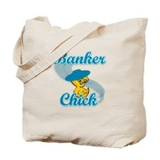 Banker Chick #3 Tote Bag