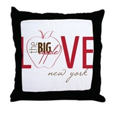 Love New York Throw Pillow