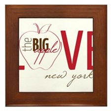 Love New York Framed Tile
