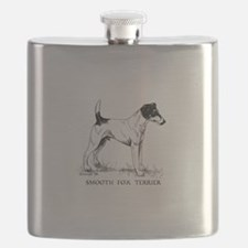Smooth Fox Terrier Flask