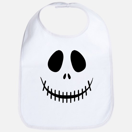 Halloween Skeleton Bib