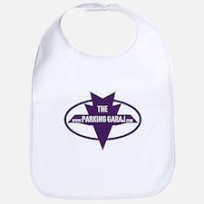 PG Purple Logo with white font Bib