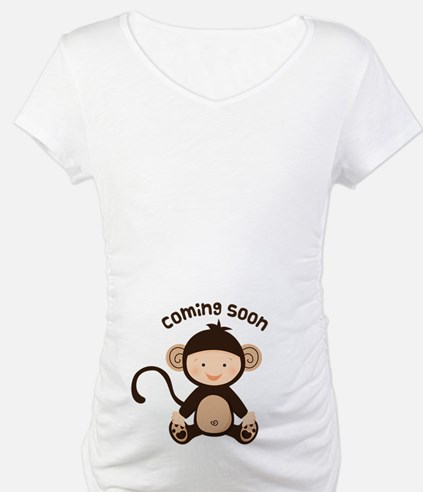 Baby Monkey Coming Soon Shirt