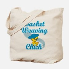 Basket Weaving Chick #3 Tote Bag