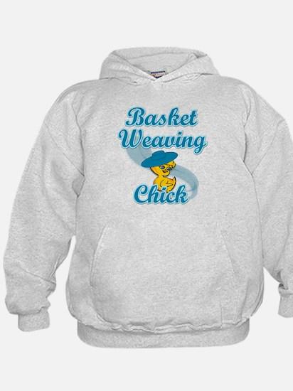 Basket Weaving Chick #3 Hoodie