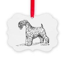 Kerry Blue Terrier Ornament