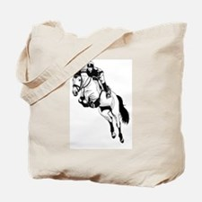 Two Hearts, One Passion Tote Bag