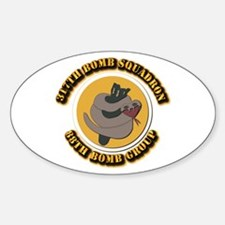 AAC - 317th Bomb Squadron, 88th Bomb Group Decal