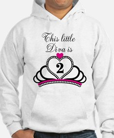 This Little Diva is 2 Hoodie