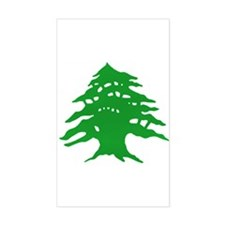 The tree Rectangle Decal
