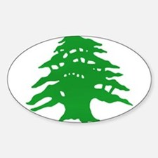 The tree Oval Decal