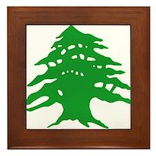 The tree Framed Tile