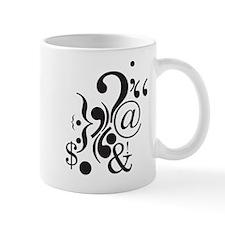 Punctuation Art Mug