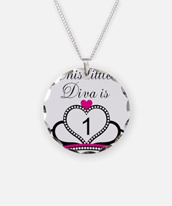 This Little Diva is 1 Necklace