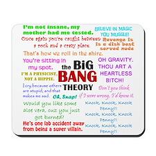 Big Bang Theory Quotes Mousepad