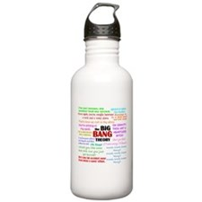 Big Bang Theory Quotes Water Bottle