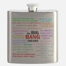 Big Bang Theory Quotes Flask