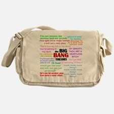 Big Bang Theory Quotes Messenger Bag
