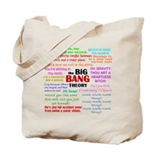Big Bang Theory Quotes Tote Bag