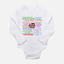 Big Bang Theory Quotes Long Sleeve Infant Bodysuit
