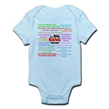 Big Bang Theory Quotes Infant Bodysuit