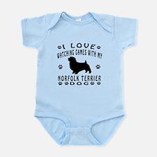 Norfolk Terrier design Infant Bodysuit